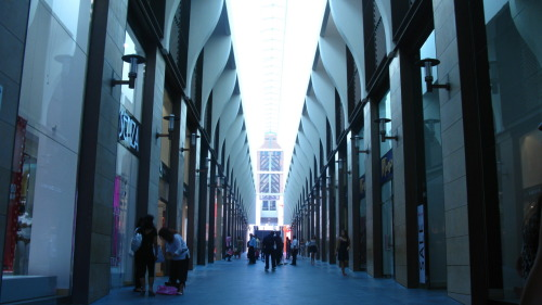Shopping in downtown Beirut