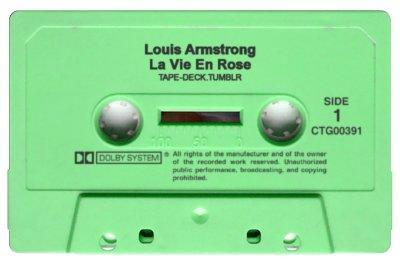 tape-deck:  Louis Armstrong - La Vie En Rose