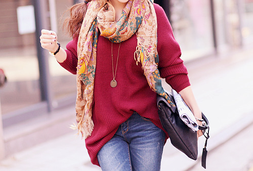fashionoriented:  I love this relaxed fashionable look. My ideal everyday wardrobe.