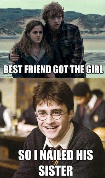 Hahahahahahaha I truly love ALL things Potter