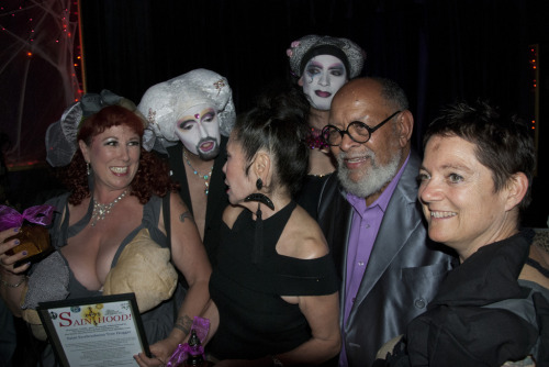 Annie Sprinkle and Elizabeth Stephens attain Sainthood from the Sisters of Perpetual Indulgence