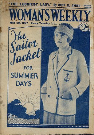 1927 Women's Weekly cover