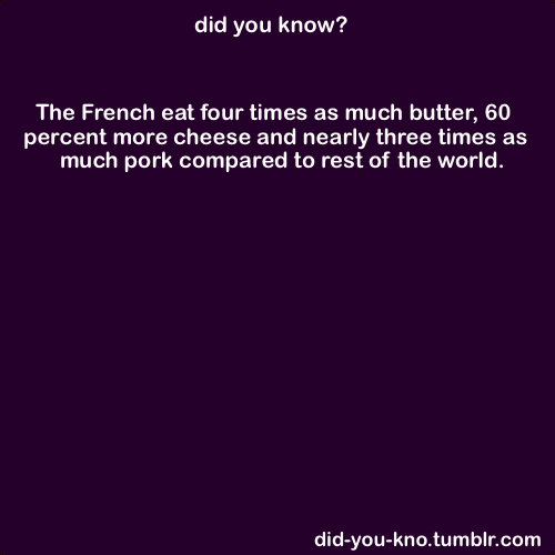 THATS WHY STRAVING YOURSELF DOESNT DO MUCH!!! the french are not fat and look! they eat more fatts then you and still skinny! so stop not eating!