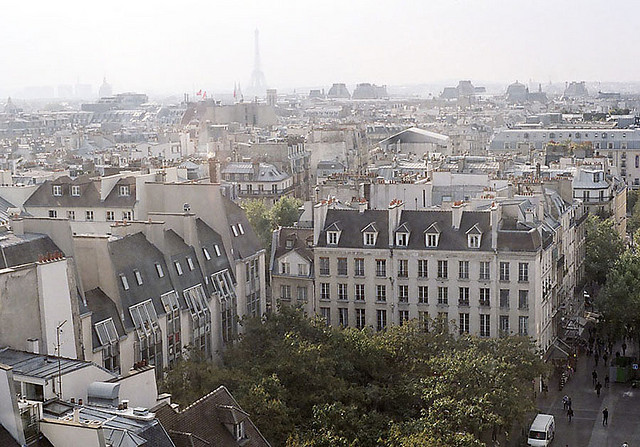 | ♕ |  Paris - from Pompidou Centre  | by © William Kimber