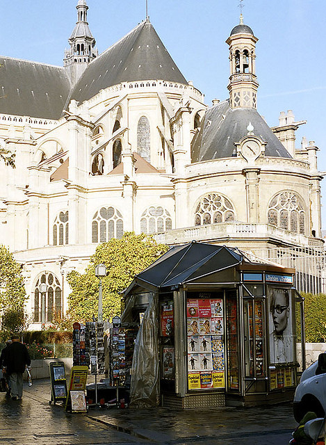 | ♕ |  St-Eustache in Les Halles, Paris  | by © William Kimber