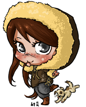 it seems like forever since i finished a chibi! this one is for Brenni. ♥