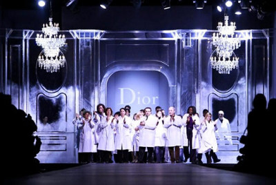 Dior Fall RTW 2011 Finale Adior! Galliano, Christian Dior 1997 - 2011.