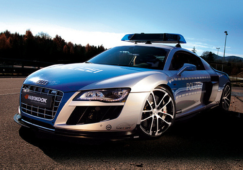 automotivated:  Audi R8 | Polizei! (by Teamspeed.com)  If you see this guy you know you're fucked.
