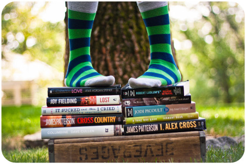 193. A pair of colorful socks and a good book are two gifts that will always add joy to her life. Remember this during her teen years. (photo: Jaime973)