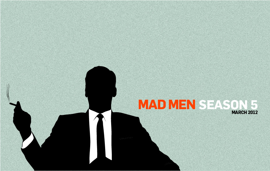 Mad Men. I'm sick of waiting! (Illustrator+photoshop)