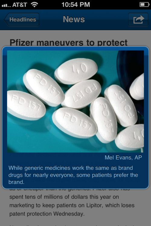 Pfizer maneuvers to protect Lipitor from generics http://usat.ly/uRAHA5