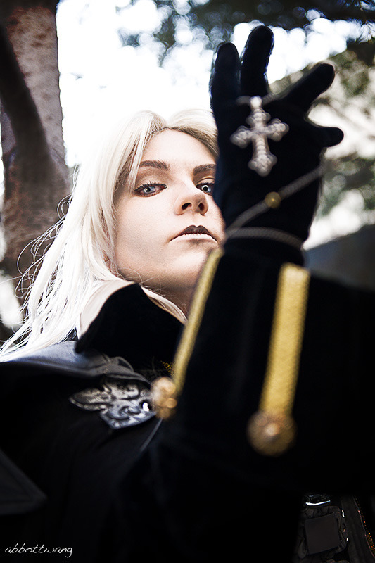 Seraphim Sephiroth as Alucard from Castlevania Photography by Abbott Wang