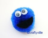 Cookie monster crafts by Craftyville.ca on Flickr.Via Flickr: Cookie monster craft tutorial can be found here www.squidoo.com/cookie-monster-crafts as well as more fun cookie monster crafts to make