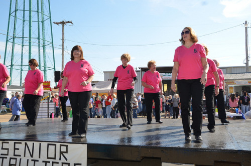 Senior Strutters at Calico Arts & Crafts Show by Old Shoe Woman on Flickr.Via Flickr: The Senior Strutters and others performed at the Calico Arts & Crafts Show at Spence Field in Moultrie, Georgia on Saturday, November 12, 2011.