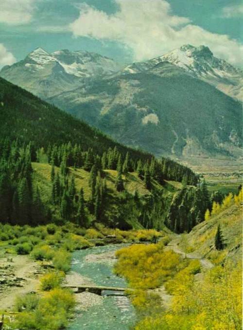 Silverton, Colorado  National Geographic, 1951