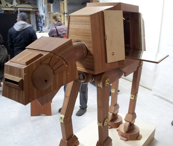 AT-AT Liquor Cabinet Perfect for Serving Up Your Johnnie (Imperial) Walker Black