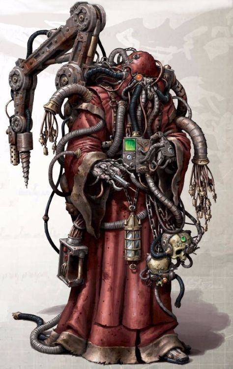 theimperialarmy:  Hey look, it's a Tech-Priest!