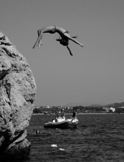 cliffdiving this summer yolo