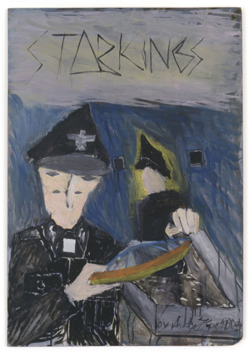 Andreas Hofer (Andy Hope 1930)Star Kings. 2005Oil on wood71 x 49.7 cm VIA MORE