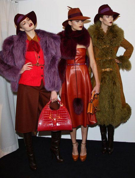 Love these colors. (via Gucci 2011-2012 - Milan-fashion-week - Paperblog)