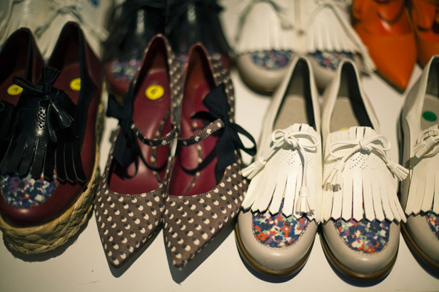 Cute shoes at Tory Burch NYFW S/S 2012! (via gothstudio)