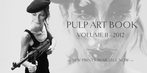 PULP ART BOOK: VOLUME II - COMING SOON
