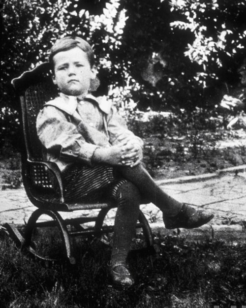 legrandcirque:  TIME magazine founder Henry Luce as a young boy, posing in his rocking chair. China, 1901.
