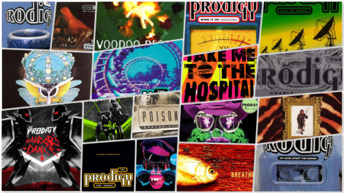 The Prodigy Singles Collage