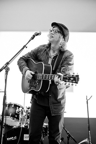 "Allen Stone (by Guerrewhoa) So about a month ago, I saw this guy perform on Conan O'Brien. I was editing photos, then I hear this guy's voice. Immediately I stop what I'm doing and listen. It was one of those, ""I can't believe what I'm hearing"" reactions, but in a good way. His voice was super soulful, and you can hear the passion he puts into the song as he sings. So after an amazing performance, I go on YouTube and search for all the live and studio videos he's in, and I'm glad I did. Right away I went onto iTunes and bought both his albums. He performed for free at the Apple Store in Downtown San Francisco and I had to be there because I missed his concert the night before. He sounds amazing live. I would've paid to go in the store just to see him. After his performance, we got to meet for a little, and he's one of the nicest musicians I've ever met. Also, since it was basically an impromptu set with his band, they didn't have a set list. I shouted out Bare Necessities as a song choice, and he went ahead and played it. It was great. Long post, but anyone who loves good music should check this guy out asap. This guy needs to be out there, instead of a lot of musicians who are getting known for crap music."