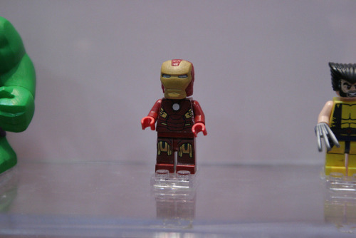 Iron Man - LEGO Super Heroes Minifigs - Marvel Comics by fbtb on Flickr.Via Flickr:The Minifigs of DC Comics and Marvel Comics