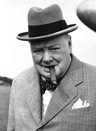 thelibrarianontherun:  Winston Churchill, born today in 1874.