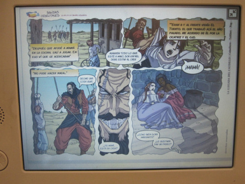 Bandas Orientales: Historical Comics for the XO by Christoph Derndorfer on Flickr.Via Flickr:www.bandasorientales.com.uy/