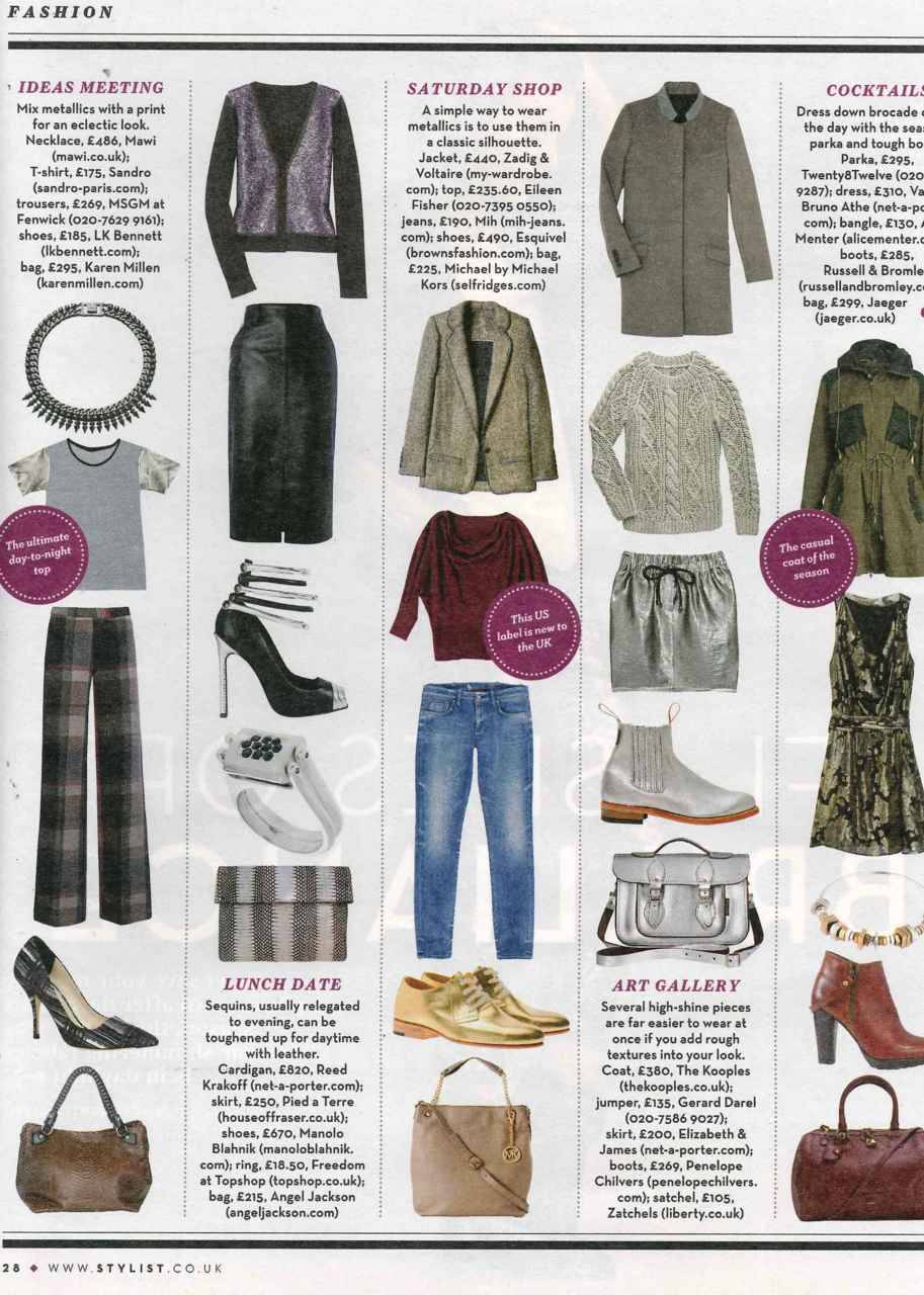 @EILEENFISHER featured in Stylist Magazine. Click to shop!