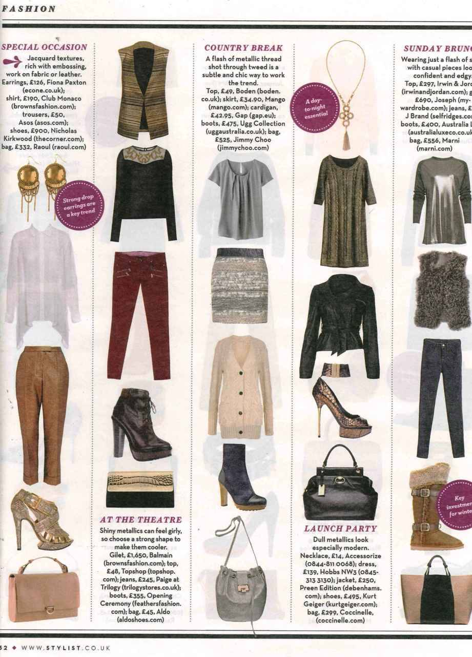 @econe_jewellery featured in Stylist Magazine. Click to shop!