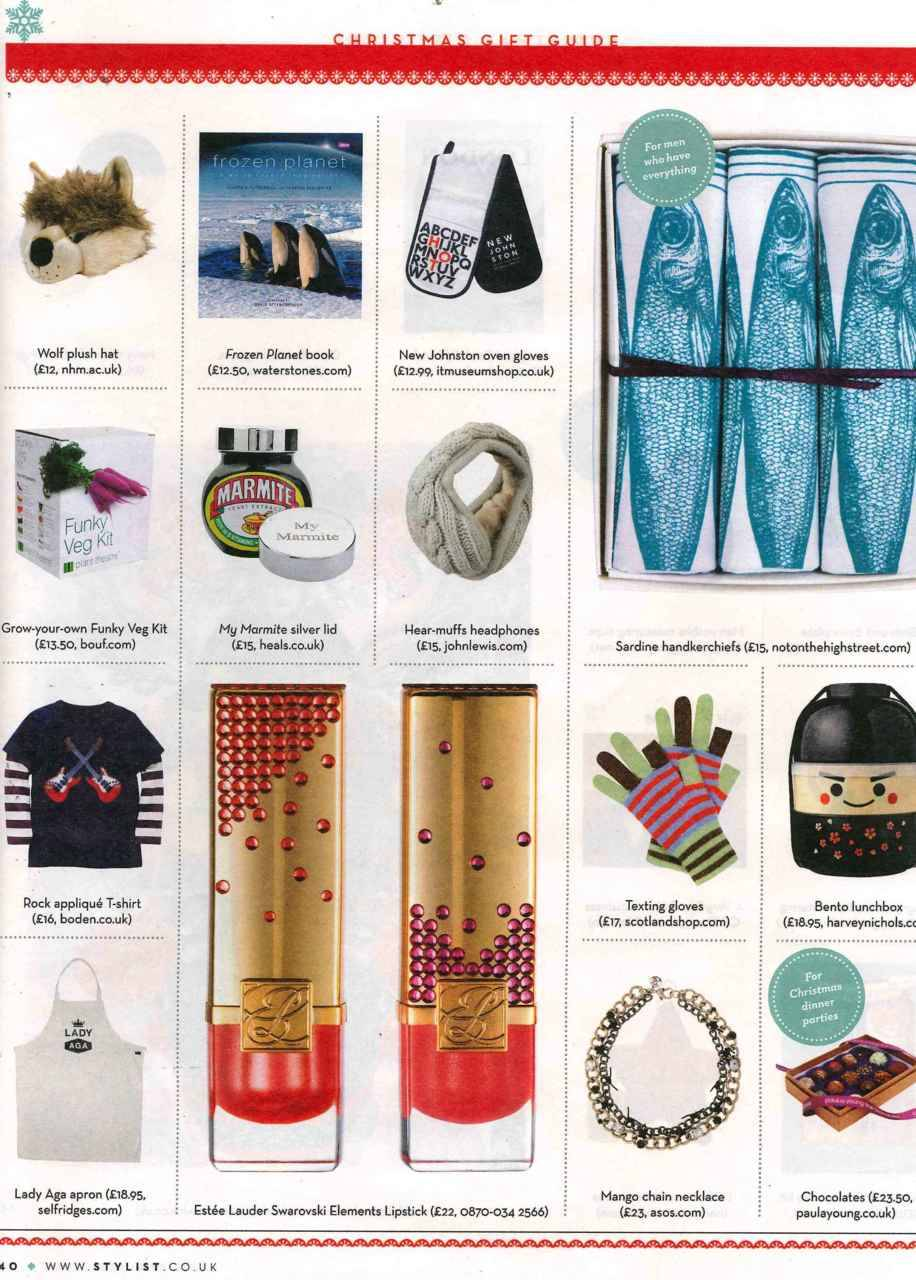 @ScotlandShop featured in Stylist Magazine. Click to shop!