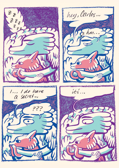 excerpt of Kris Mukai's comics in š! #9 'female secrets' (get it for only 12 dollars!)