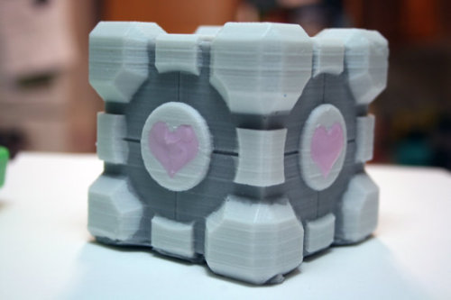 Companion Cube SOAP NO JOKE.