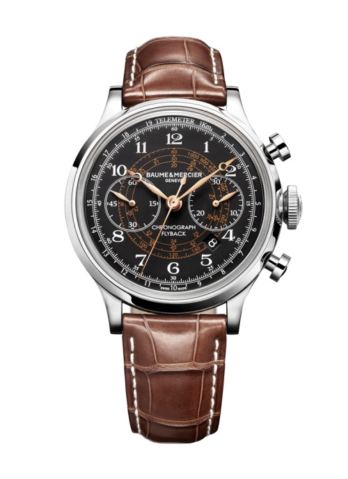 Here's the new Capeland Flyback Chronograph from Baume & Mercier.  It just looks great. For the full story, click here.