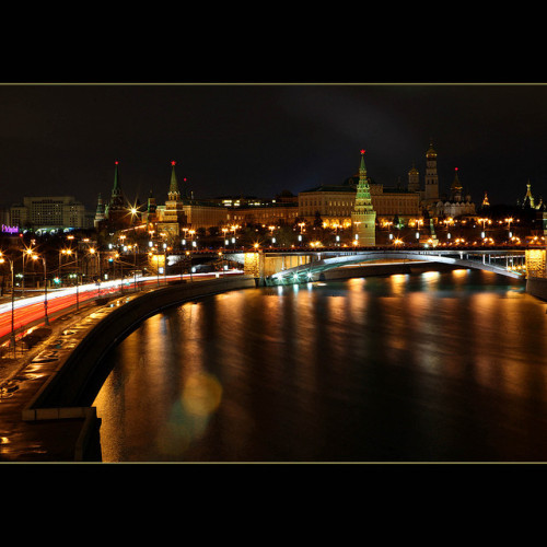 Moscow tonight by JannaPham on Flickr.