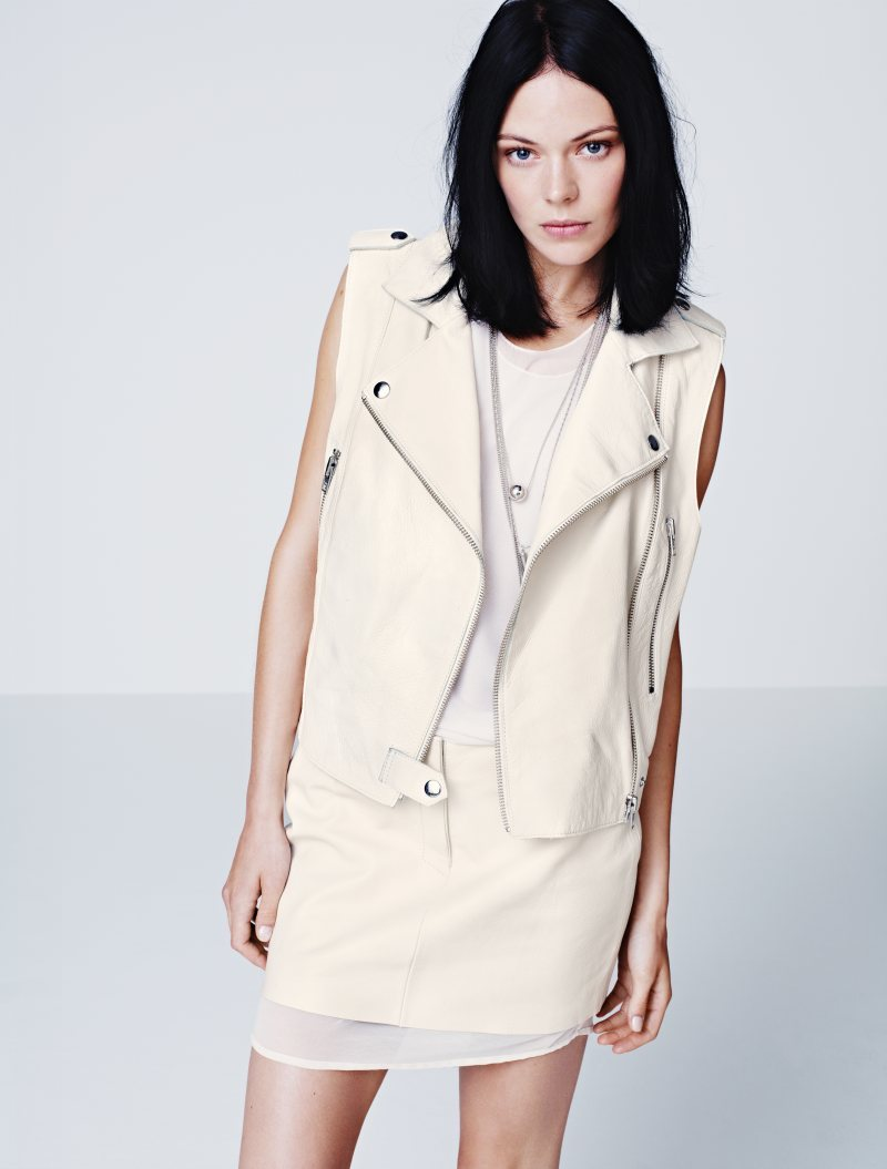 Kinga Rajzak for H&M Spring 2012 Lookbook