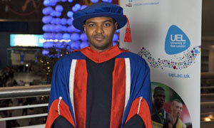 Doctor Who star Noel Clarke picks up honorary doctorate  HE'S battled aliens alongside Doctor Who and is a  critically acclaimed screenwriter and director, but now former Ladbroke  Grove resident and Hammersmith student, Noel Clarke, can add an honorary  doctorate to his long list of achievements. The 35-year-old star of Doctor Who and Kidulthood  was conferred an honorary doctor of arts at the University of East  London at a ceremony held at the O2.