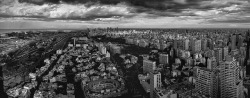 Buenos Aires Skyline in Black and White | 111109-1-jikatu by jikatu on Flickr.Via Flickr: Best to view original photo: www.flickr.com/photos/jikatu/6331026593/sizes/o/in/photos… Buenos Aires, Argentina.Camera: Canon EOS 5D Mark II Lens  Nikon 14-24mm f/2.8G ED AF-S Nikkor Wide Angle ZoomExposure: ¹⁄₅₀₀ sec at f/2.8ISO: 50