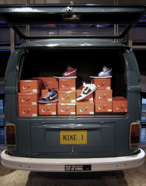 Nike town NYC Back in 2008