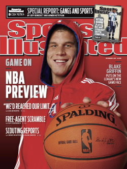 siphotos:  This week's Sports Illustrated features Blake Griffin on the cover as the NBA makes its long-awaited return. CLICK HERE TO PURCHASE THIS WEEK'S COVER