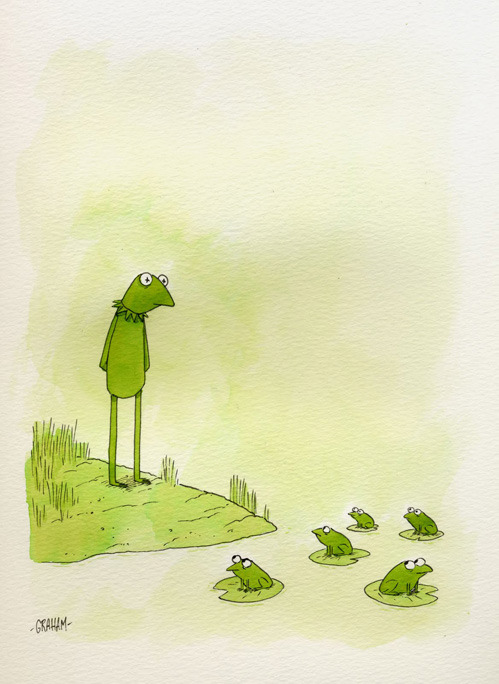 nevver:  Graham Annable  Froggies c: