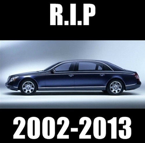 The Hip-Hop community just shed a collective giant tear. R.I.P Maybach!