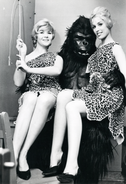 Two Blondes and a Gorilla c. 1960's