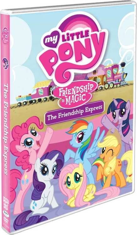 New cover art for the My Little Pony: Friendship is Magic DVD!