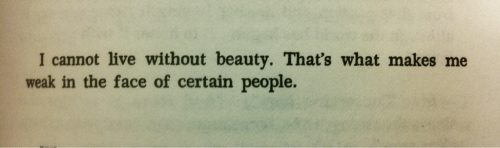 from Camus' journal