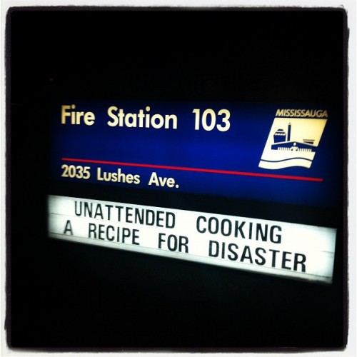 I like it when the fire dept posts recipes. (Taken with instagram)